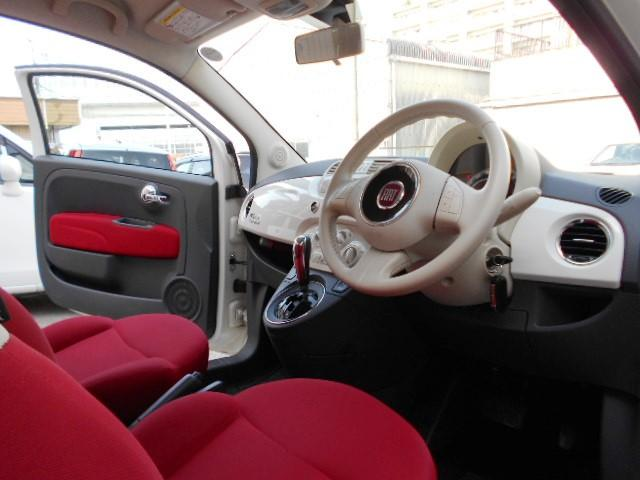 フィアット フィアット 500 ツインエア ポップ 1オーナー ETC Wエアバック ABS