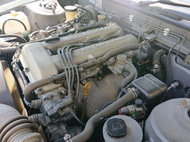 機関良好、調子の良いエンジンです。