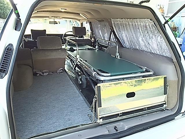 トヨタ クラウンステーションワゴン ロイヤルエクストラ 寝台霊柩車