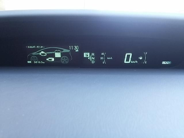 トヨタ プリウス Gツーリングセレクション フルセグHDDメーカーナビ ETC