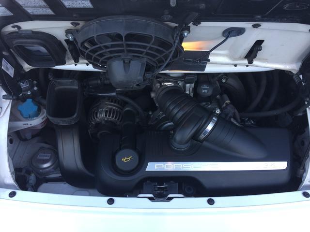ポルシェ ポルシェ 911カレラ 社外HDDナビ ETC レザーシート
