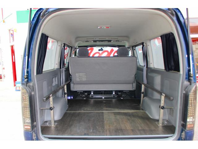 ロングワイドスーパーGL エアロ ローダウン LEDヘッド 室内ベット 4WD ミドルルーフ(22枚目)