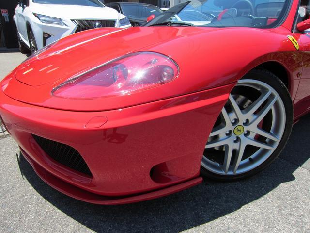 フェラーリ フェラーリ 360 F1スパイダー 新車並行 ハーマンエアロ パワークラフト