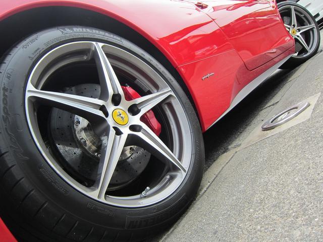 フェラーリ フェラーリ 458イタリア ディーラー車 屋内保管 記録簿有 フロントリフター 黒革S