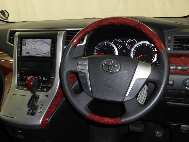 トヨタ ヴェルファイア 2.4ZプラチナムセレクションHDDナビ地デジBカメDVD再