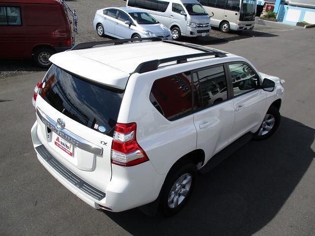 トヨタ ランドクルーザープラド TX Lパッケージ サンルーフ 黒革 HDDナビワンオーナー