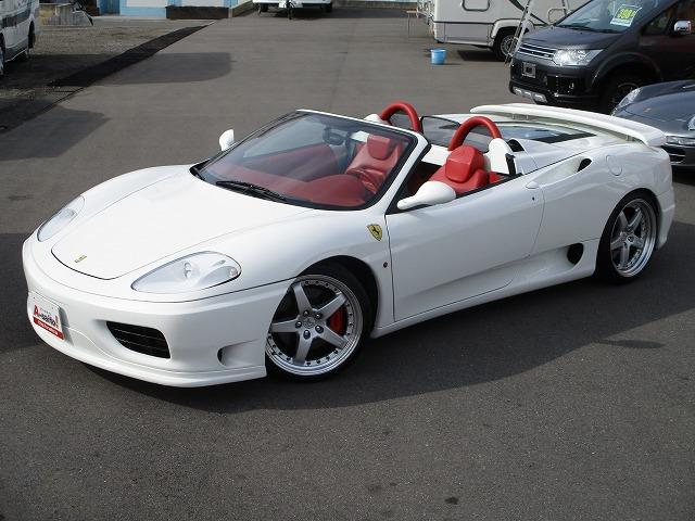 「フェラーリ」「フェラーリ 360」「オープンカー」「岐阜県」の中古車2