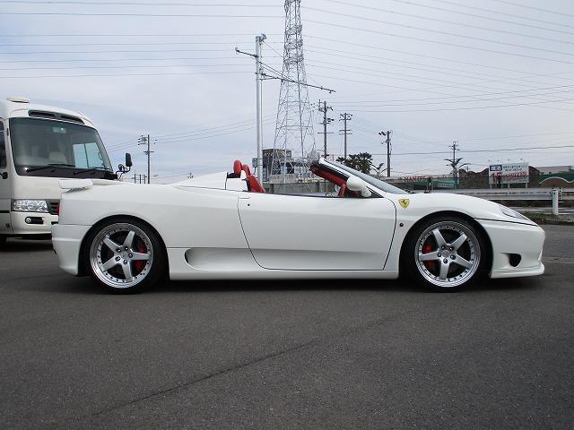 「フェラーリ」「フェラーリ 360」「オープンカー」「岐阜県」の中古車4