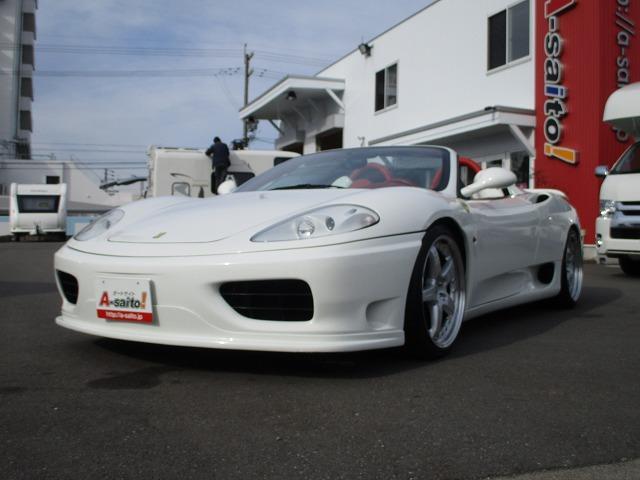 「フェラーリ」「フェラーリ 360」「オープンカー」「岐阜県」の中古車6