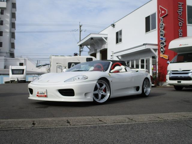 「フェラーリ」「フェラーリ 360」「オープンカー」「岐阜県」の中古車21