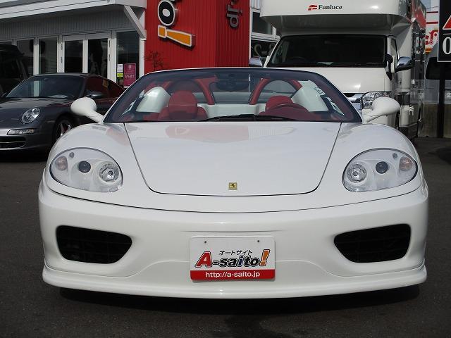 「フェラーリ」「フェラーリ 360」「オープンカー」「岐阜県」の中古車25