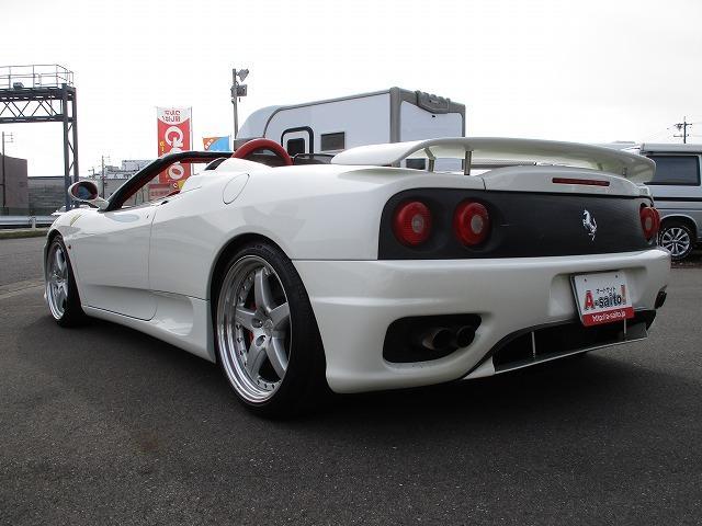 「フェラーリ」「フェラーリ 360」「オープンカー」「岐阜県」の中古車28