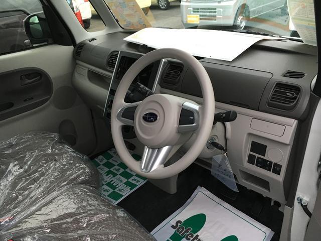 スバル シフォン L スマートアシスト 届出済未使用車 アイドリングストップ