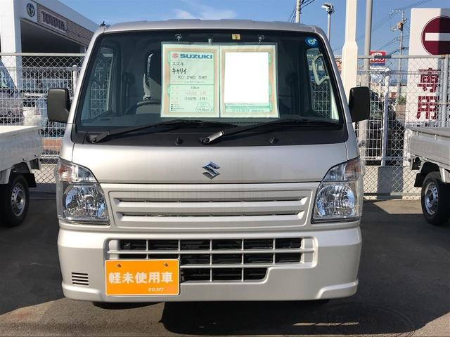 KC エアコン 5MT 軽トラック 保証付 パワステ(2枚目)