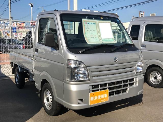 KC エアコン 5MT 軽トラック 保証付 パワステ(3枚目)