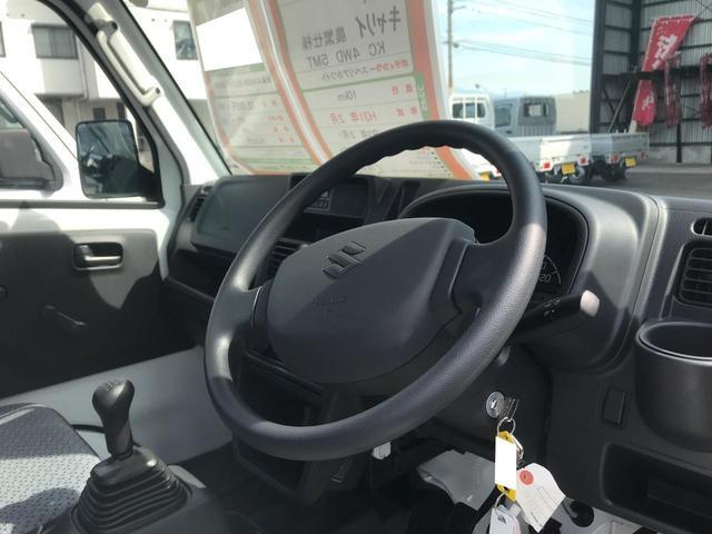 KC農繁仕様 4WD エアコン 5速MT パワステ(5枚目)
