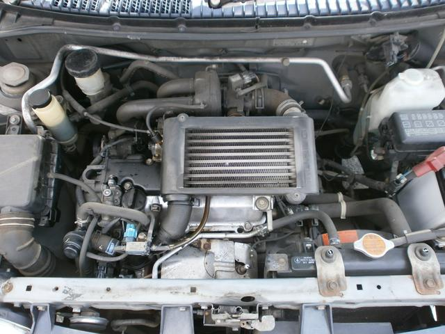 ダイハツ ミラ CRターボ 5速MT 4WD 車検記録簿有