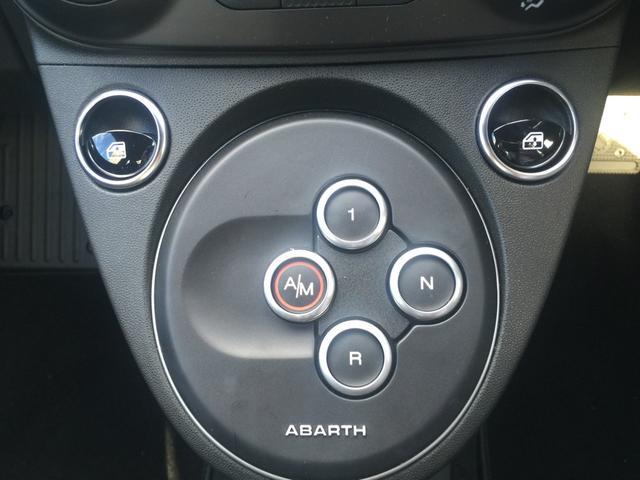 アバルト アバルト アバルト595 ベースグレード 弊社デモカー ナビバック カメラ ETC