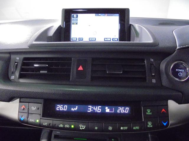 レクサス CT CT200h バージョンC 純正ナビ リアカメラ 1オーナー
