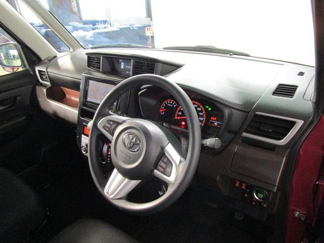 トヨタ ルーミー G-T フルセグSDナビ 後席モニター W電スラ スマートキ