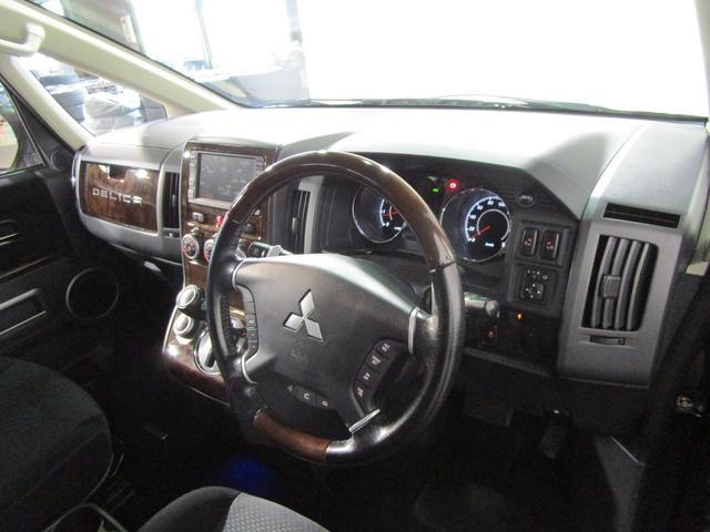 シャモニー 4WD HDDナビTV W電スラ スマートキー(10枚目)