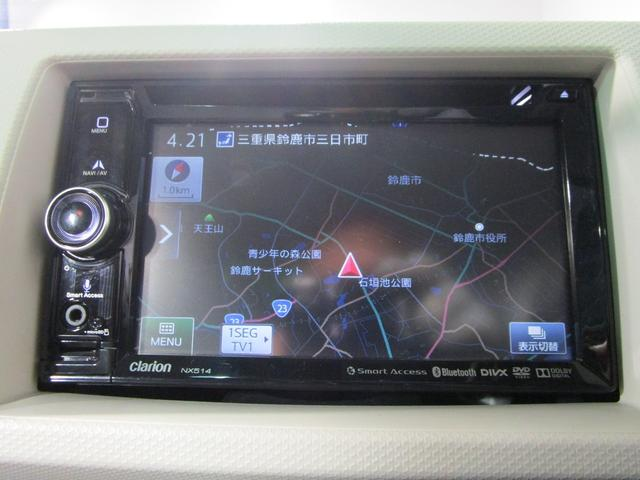L /社外ワンセグメモリーナビ/DVD再生/シートヒーター/キーレス/ETC/アイドリングストップ(3枚目)