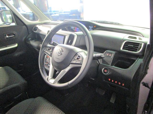 ハイブリッドMZ 社外ナビ ワンセグTV バックカメラ デュアルカメラブレーキサポート インテリキー HIDオートライト 両側パワースライドドア 運転席シートヒーター クルーズコントロール アイドリングストップ(9枚目)