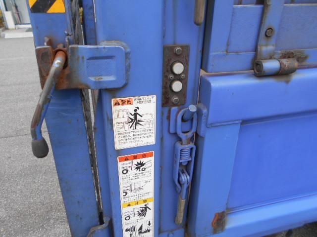 三菱ふそう キャンター 平 Wキャブ 垂直Pゲート 2t 5速 7人 荷台鉄板