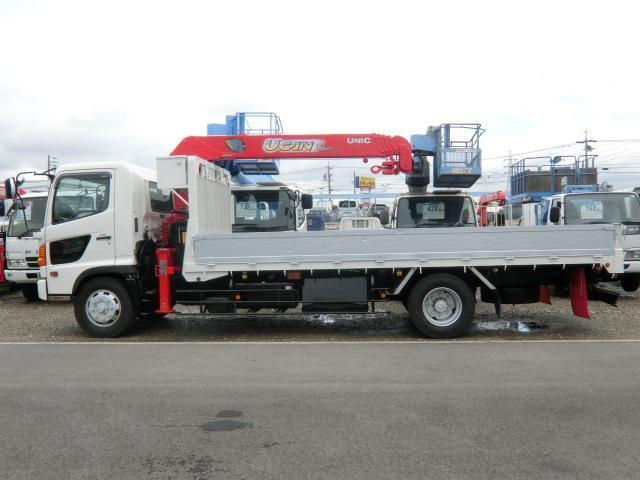 日野 レンジャー 中型増トン 5段クレーン ラジコン 積載7100kg 6MT