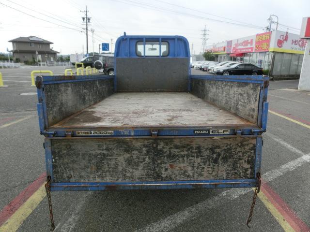 いすゞ エルフトラック 平 10尺 2t スムーサー ナビ フルフラットロー 3方開