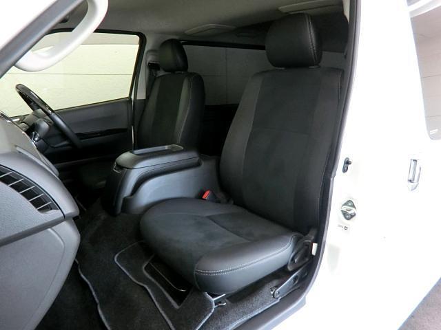 トヨタ ハイエースバン スーパーGLロング ダークプライム ハーフレザー Pスタート