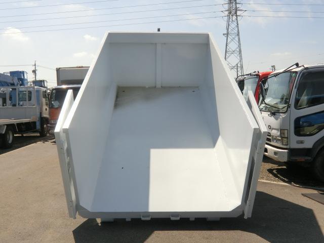 いすゞ フォワード アームロール ツインホイスト 8立米新品コンテナ 4t 6速