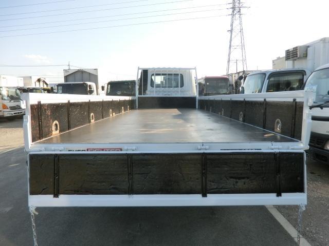 三菱ふそう ファイター 平 4t 6速 6.2M ロング 荷台鉄板 パブコ 3方開