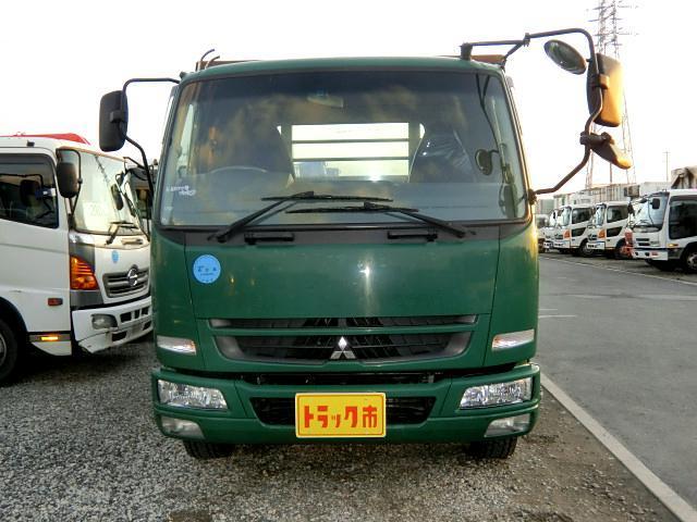 三菱ふそう ファイター 平 増t 8t 6速 ワイド 荷台6200 スタンション