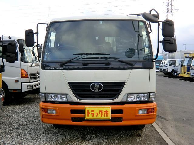 UDトラックス コンドル パッカー車 プレス式 増t 3t 6速 7.4立米 連続S