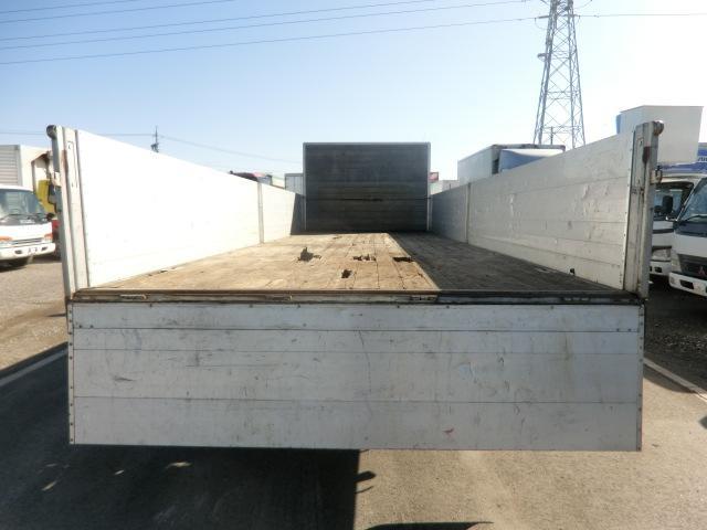 日野 レンジャー 平アルミブロック ワイド720ボディ 4t ベッド付 6MT