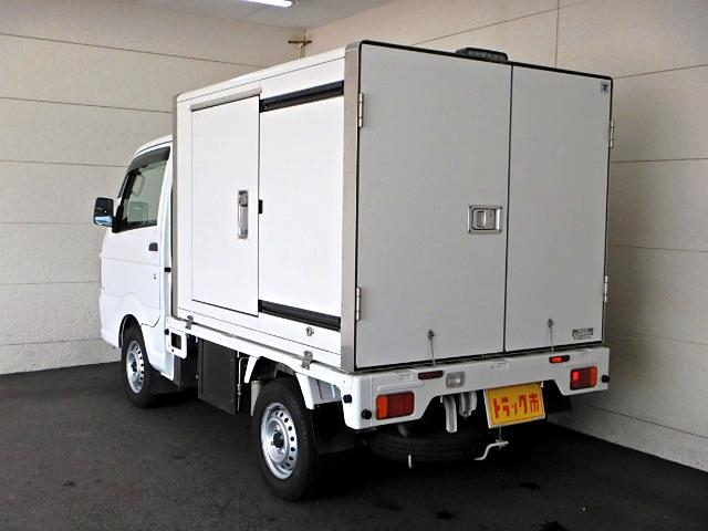 スズキ キャリイトラック 冷蔵冷凍車 -5℃ サイド扉 プラスノコ 5MT キーレス