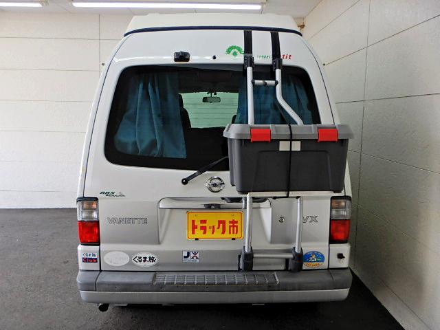 キャンピングカー ベッド・シンク・テーブル・給排水タンク付き(7枚目)