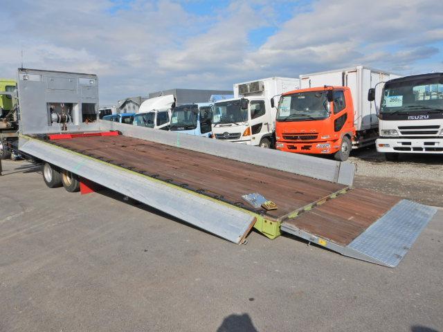 重機運搬車 ハイジャッキ 低床4軸 ローダー ラジコン付(8枚目)