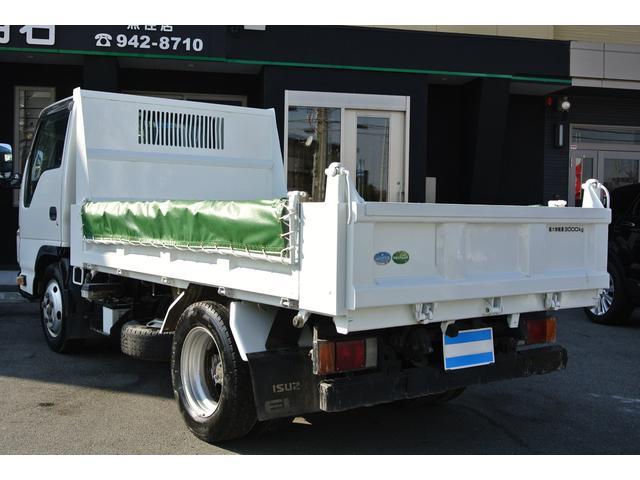 いすゞ エルフトラック ダンプ 3t コボレーン付 3方開 フルフラットロー 6MT