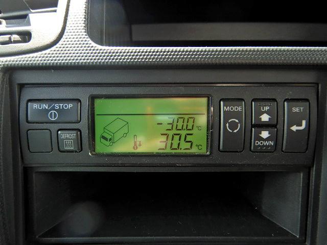 冷蔵冷凍車-30℃ 保冷室有り 2室式 サイドドア 5MT(15枚目)