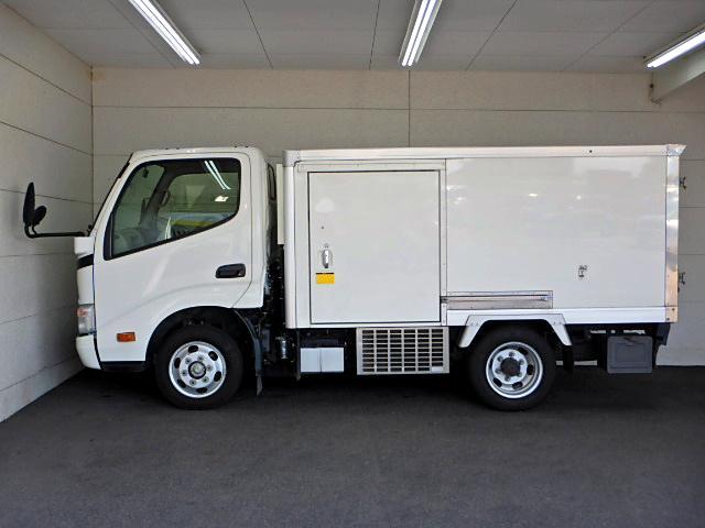冷蔵冷凍車-22℃ サイドドア 1.4t積 ラッシングレール(4枚目)
