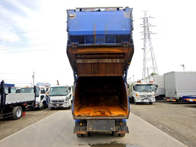 極東開発パッカー車!4.2立米!排出押し出し式です