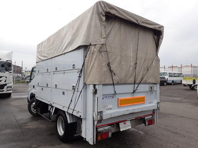 トヨタ ダイナトラック 平 電工仕様 垂直Pゲート 3t 5速 工具箱 幌付