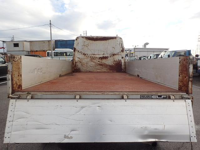 いすゞ エルフトラック 平 アルミブロック 3t 5速 全低床 3方開 小型