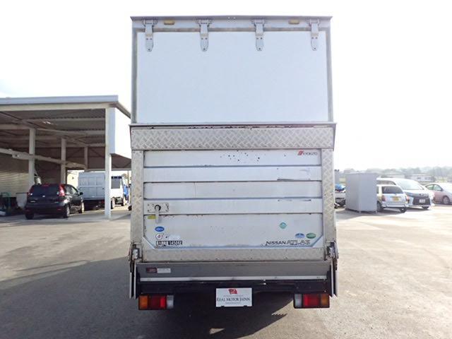 日産 アトラストラック フルスーパーロー アルミバン パワーゲート サイドドア