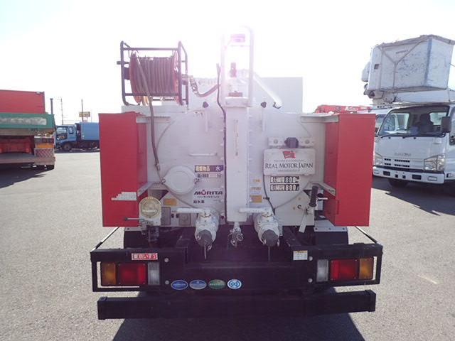 いすゞ エルフトラック 給採水車 AT 容積800l モリタ製 ETC Bカメラ