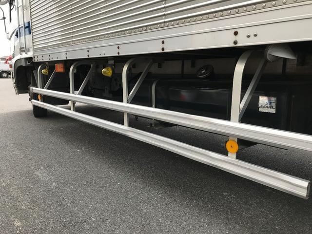 日野 レンジャー 4トン アルミバン ワイド6.2M パワーゲート ベッド付き