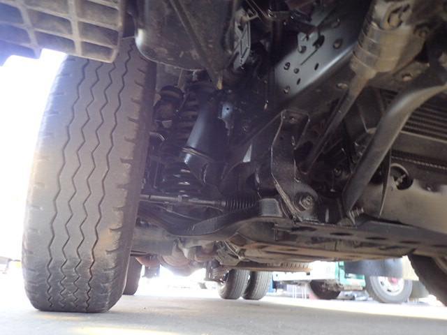 いすゞ エルフトラック 強化ダンプ 3トン 6速MT 全低床 アングル補強 極東開発