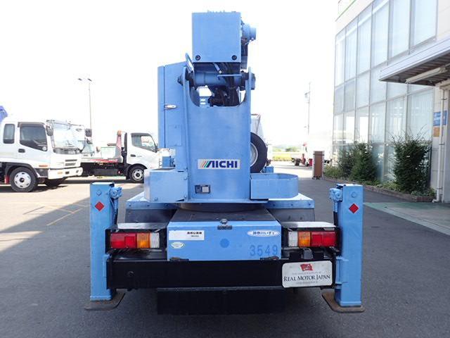 高所作業車 アイチ製 作業高12.6M 5MT 上物同年式(7枚目)